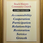 Beach Ministry Core Values