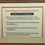 Beach Ministry Vision Statement